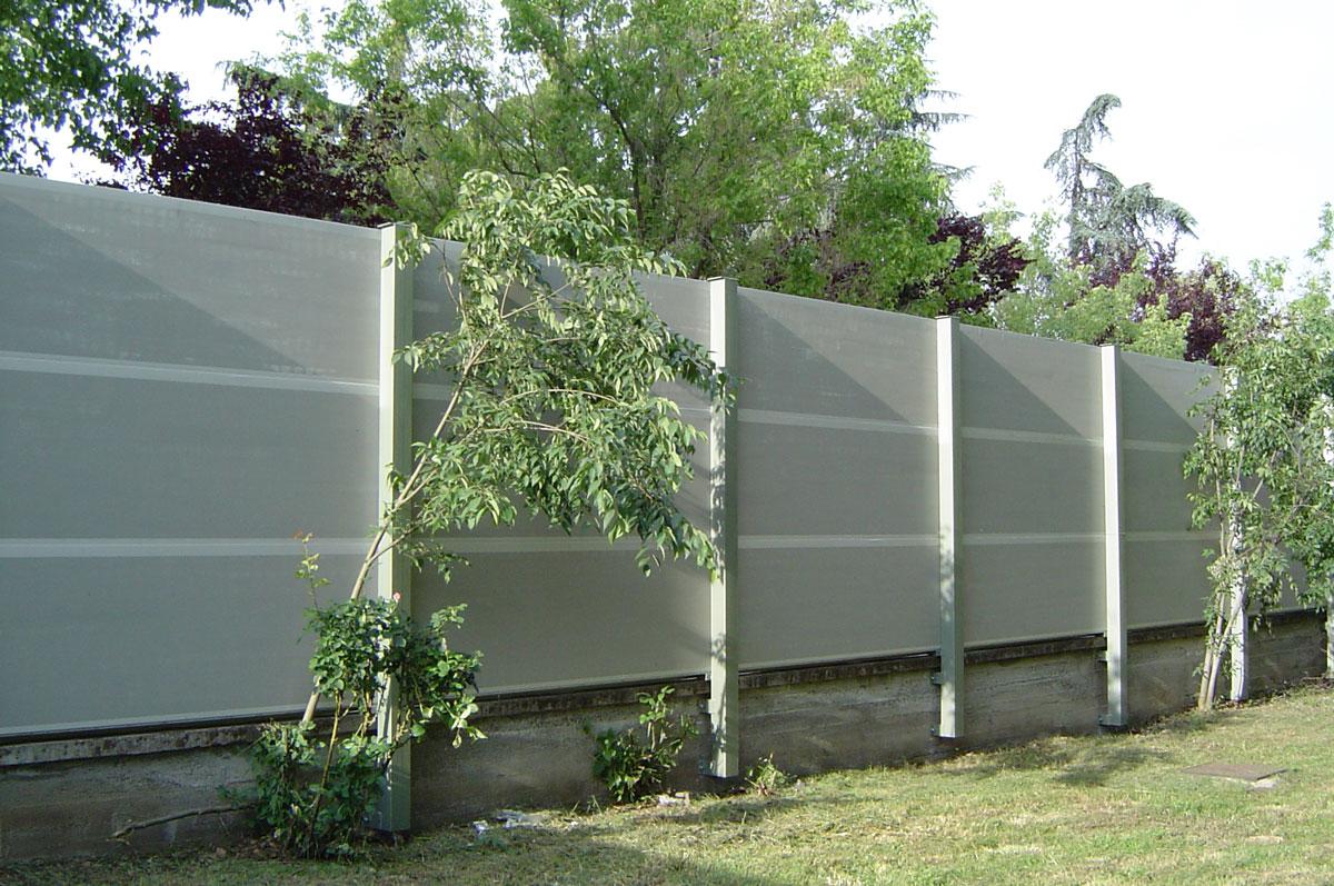 Ecotech Pro Barriere Antirumore Con Pannelli Acustici