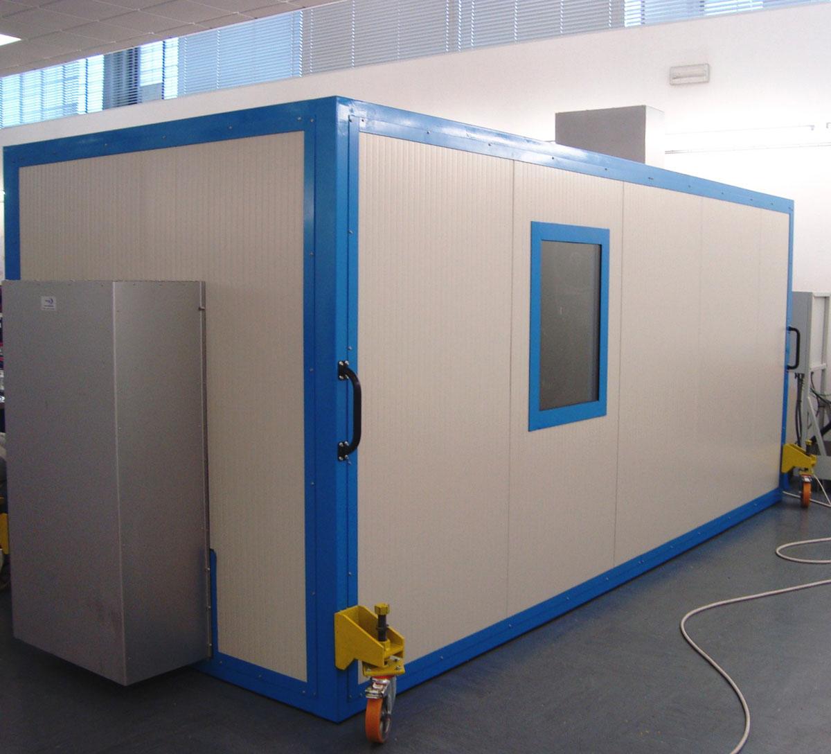 Ecotech pro cabine insonorizzate silenti acustiche for Cabine per nascondigli glenwood